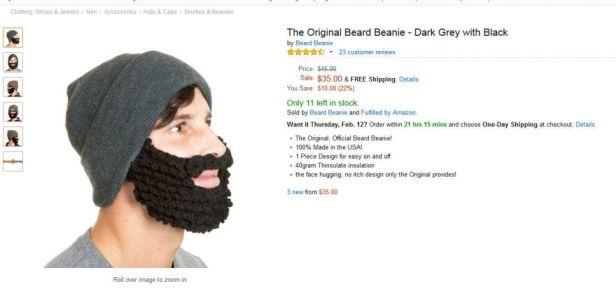 beanie beard